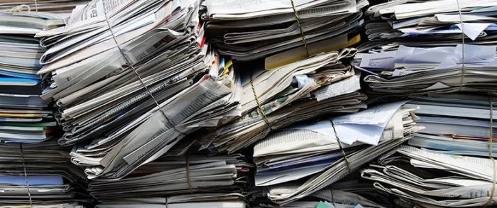 Zbiralna akcija starega papirja v petek, 11. 10. 2019